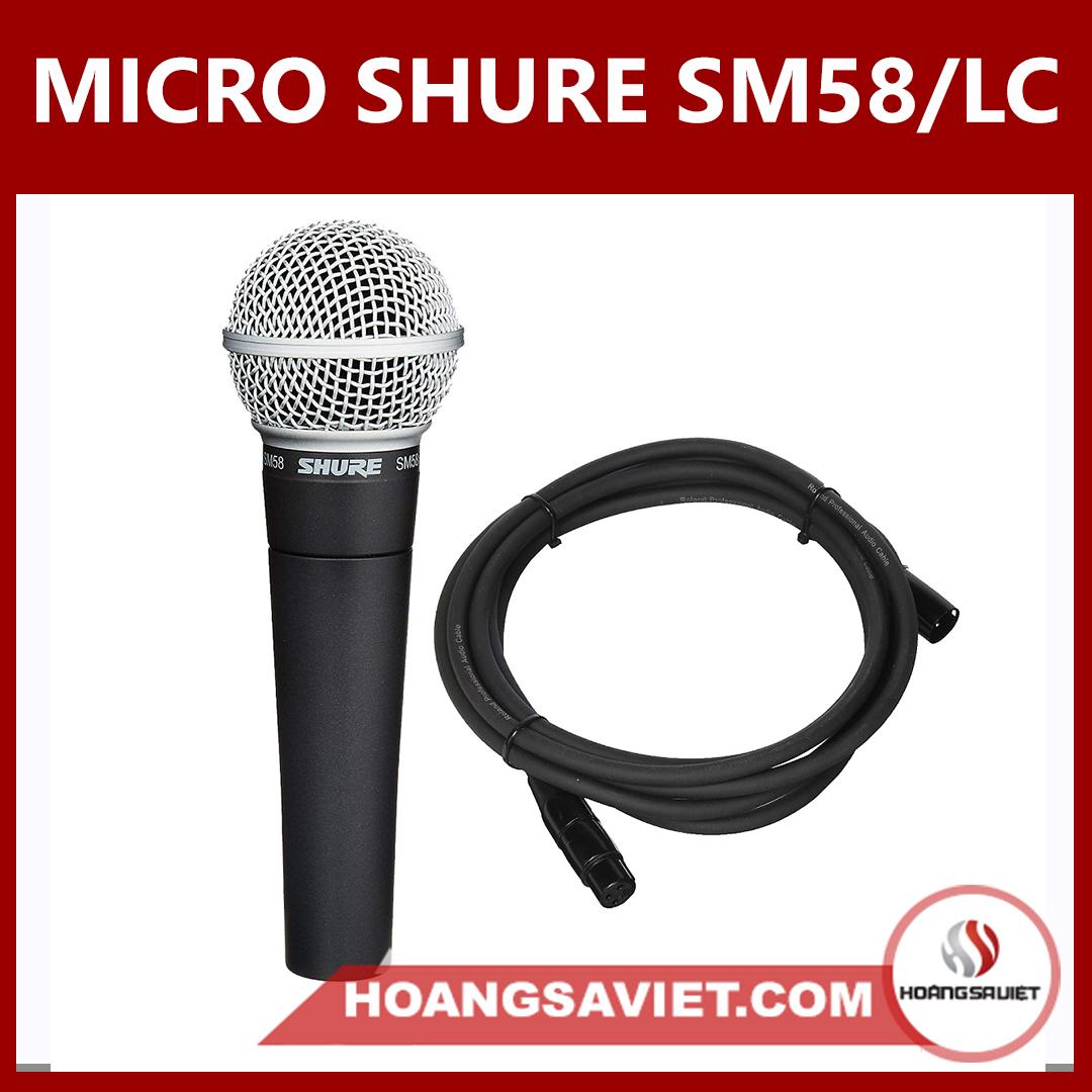 Micro Shure SM58-LC