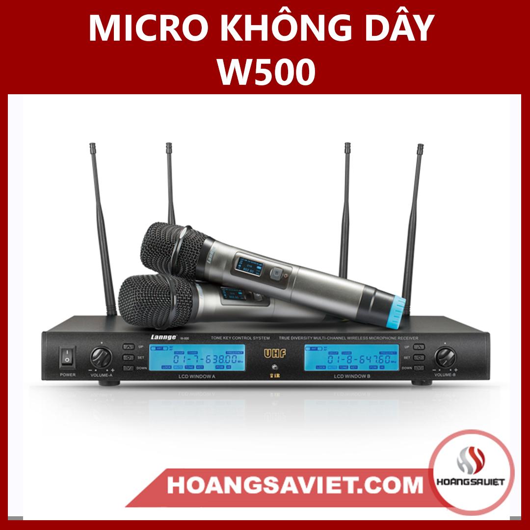 Micro Không Dây W-500