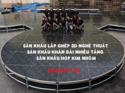 Giá Thuê Sân Khấu Tổ Chức Sự Kiện Và Sân Khấu Thiết Kế 3D Chi Tiết