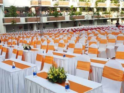 Cho Thuê Ghế Đại Biểu - Ghế Banquet Lưng Tròn Giá Rẻ