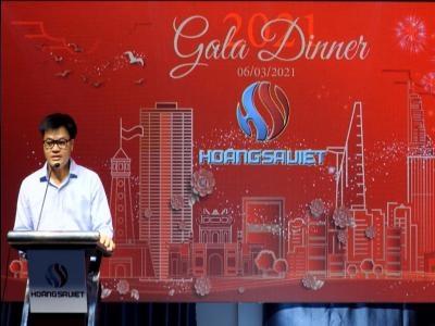 Tổng Giám Đốc Cty Hoàng Sa Việt. Phát Biểu Nhân Dịp Tiệc Tân Niên 2021 ✅