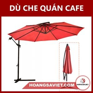Dù Che Nắng Quán Cafe 2.7m (Chân Sắt)