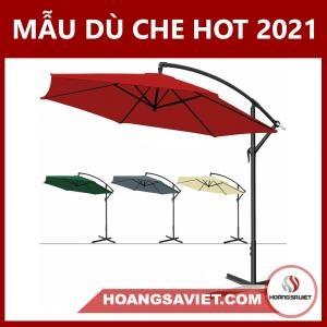 Mẫu Dù Che Ngoài Trời Hot Nhất 2021
