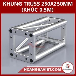 Khung Truss 250x250mm (Khúc 0.5m) VS2525B_0.5m