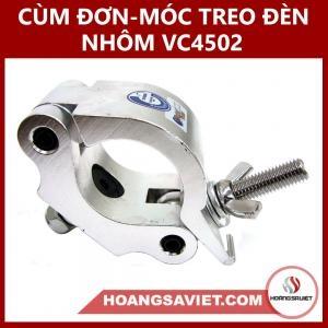 Cùm Đơn & Móc Treo Đèn Nhôm VC4502