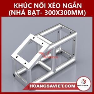 Khúc Nối Xéo Ngắn Nhà Bạt Sự Kiện 300x300mm NX3030BP