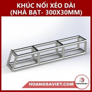 Khúc Nối Xéo Dài Nhà Bạt Sự Kiện 300x300mm NX3030BP_Dài