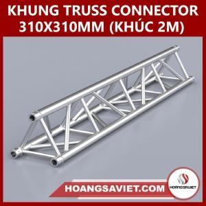 Khung Truss Connector 310x310mm (Khúc 2.0m) VT3131C_2.0m (Tam Giác)