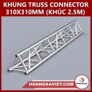Khung Truss Connector 310x310mm (Khúc 2.5m) VT3131C_2.5m (Tam Giác)