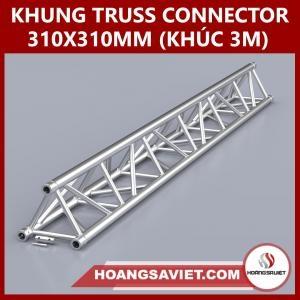Khung Truss Connector 310x310mm (Khúc 3.0m) VT3131C_3m (Tam Giác)