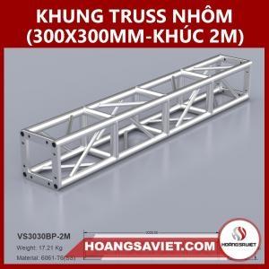 Khung Truss Hợp Kim 300x300mm (Khúc 2.0m) VS3030BP_2.0m