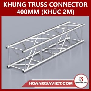 Khung Truss Connector 400mm (Khúc 2m) VS4040C_2m