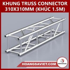 Khung Truss Connector 310x310mm (Khúc 1.5m) VS3131C_1.5m