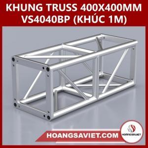 Khung Truss 400x400mm (Khúc 1m) VS4040BP_1m