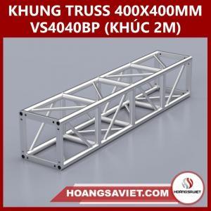 Khung Truss 400x400mm (Khúc 2m)  VS4040BP_2m