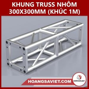 Khung Truss Nhôm 300x300mm (Khúc 1m) VS3030BP_1m