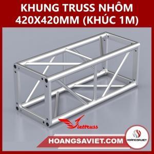 Khung Truss 420x420mm (Khúc 1m) VS4242B_1m