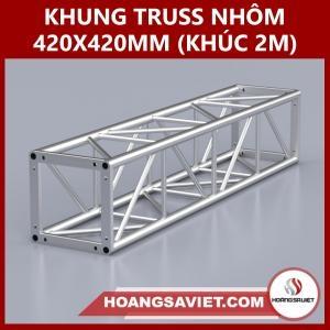 Khung Truss 420x420mm (Khúc 2m) VS4242B_2m