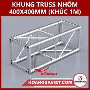 Khung Truss 400x400mm (Khúc 1m) VS4040B_1m