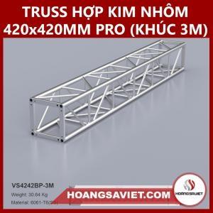 Khung Truss Hợp Kim Nhôm 420x420mm (Khúc 3m) VS4242BP_3m Pro Chuyên Nghiệp