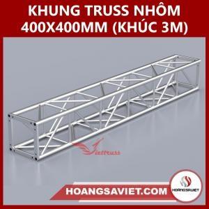 Khung Truss 400x400mm (Khúc 3m) VS4040B_3m