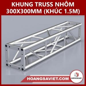 Khung Truss 300x300mm (Khúc 1.5m) VS3030B_1.5m