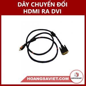 Dây Chuyển HDMI Ra DVI (MALE TO MALE)