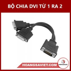 Bộ Chia DVI Từ 1 Ra 2 (Male To Male)