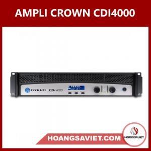 Ampli Cục đẩy Công Suất Crown CDI4000