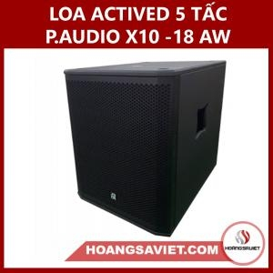 Loa Sub Actived Liền Công Suất 5 Tấc Paudio X10 - 18AW