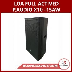 Loa Full P.audio X10-15AW Liền Công Suất Actived