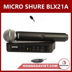 Micro Shure BLX24A/SM58