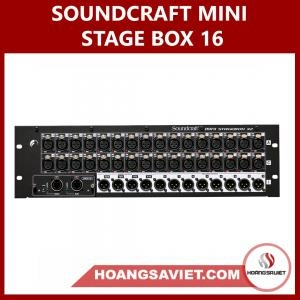 Soundcraft Mini Stage Box 16