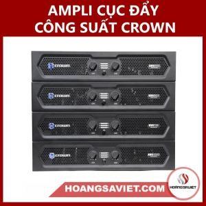 Ampli Cục đẩy Công Suất Crown KVS300 | KVS500 | KVS700 | KVS1000