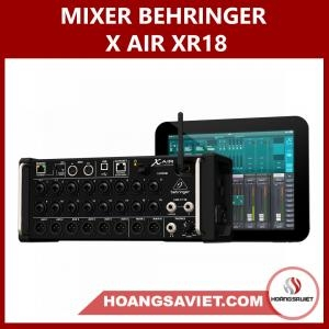 Mixer Behringer X AIR XR18