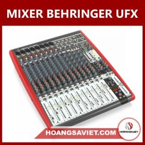 Mixer Behringer UFX1604