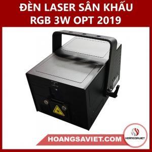 Đèn Laser Sân Khấu RGB 3W OPT 2019 (Laze)