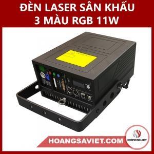 Đèn Laser Sân Khấu 3 Màu RGB 11W (Laze)