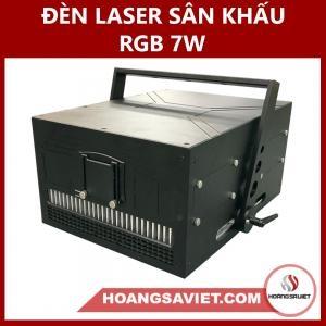 Đèn Laser Sân Khấu RGB 7W (Laze)