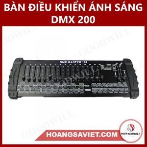 Bàn Điều Khiển Ánh Sáng DMX 200