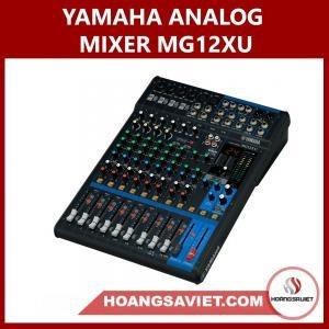 Yamaha Analog Mixer MG12XU