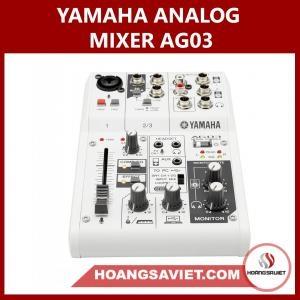 Yamaha Analog Mixer AG03