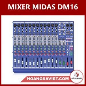 Mixer Analog Midas DM16