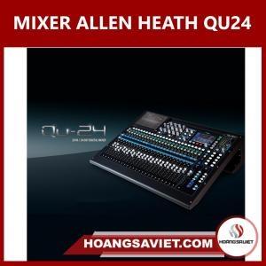 BÀN DIGITAL MIXER ALLEN HEATH QU 24 KỸ THUẬT SỐ