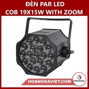 Đèn Par Led Cob 19X15W With Zoom