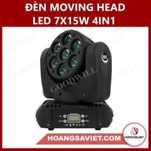 Đèn Moving Head Led 7X15W 4IN1