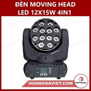 Đèn Moving Head Led 12X15W 4IN1