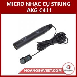 Micro Nhạc Cụ String AKG C411
