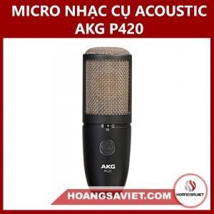 Micro Nhạc Cụ Acoustic AKG P420