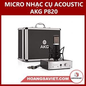 Micro Nhạc Cụ Acoustic AKG P820